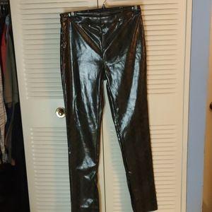 SHEIN snakeskin design 32x32 size L shiny pants